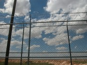 Picture of a tall fence